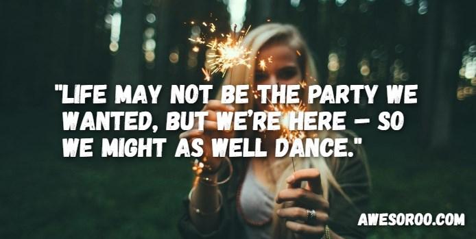 party attitude image