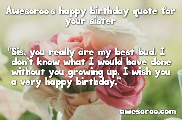 Terrific 318 Best Happy Birthday Sister Status Quotes Wishes Dec Funny Birthday Cards Online Sheoxdamsfinfo
