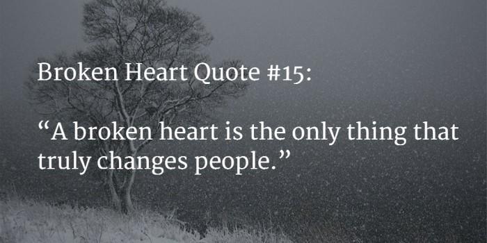 broken heart quote 1