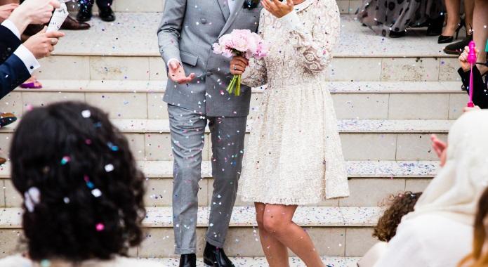 couple during wedding desktop