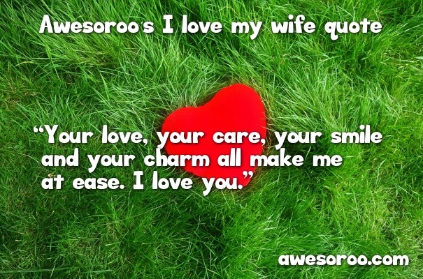 love quote for your wife