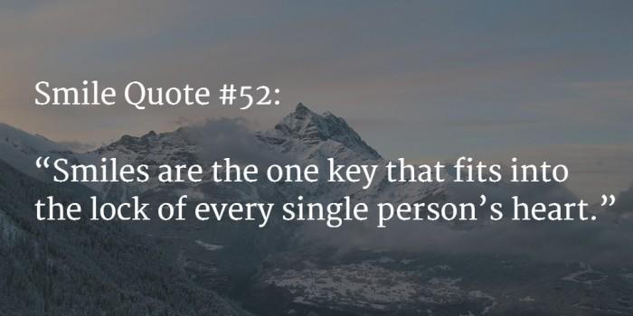 smile quote 4