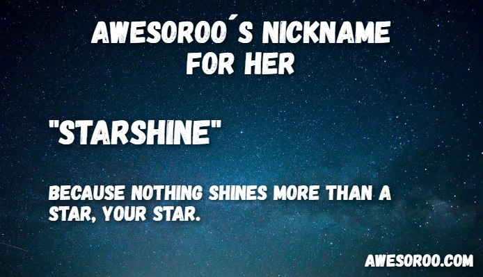 starshine nickname