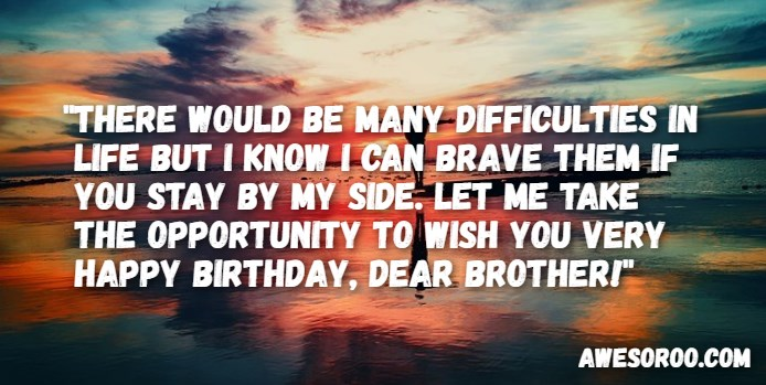 317+ [BEST] Happy Birthday Brother Status Quotes & Wishes (2019)