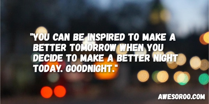 encouraging good night quote 3