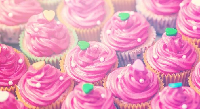pink cupcakes desktop