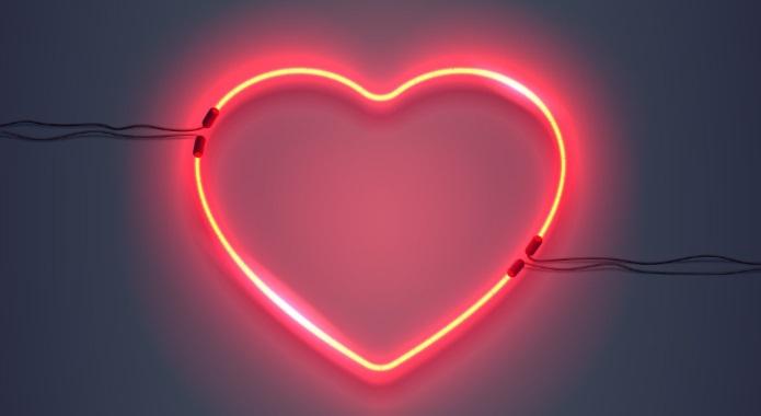 NEON HEART DESKTOP