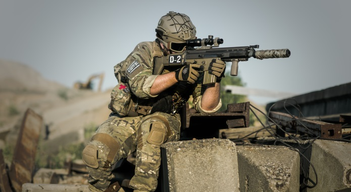 SOLDIER IN WAR desktop
