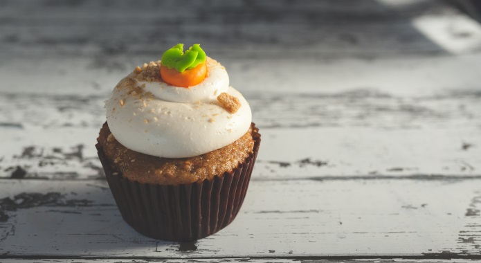 sweet carrot cupcake desktop
