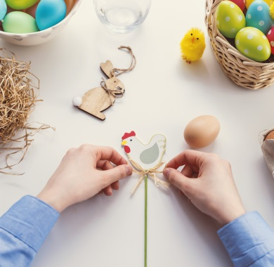 easter decoration mobile