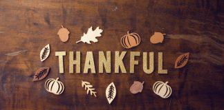 thankful text