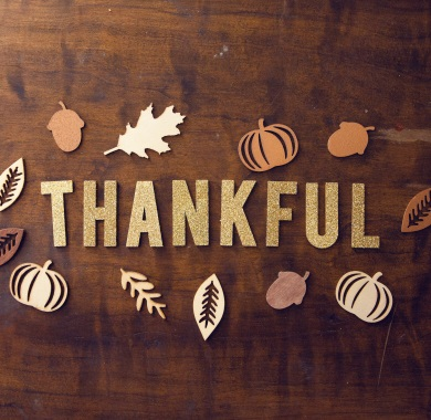 thankful text mobile
